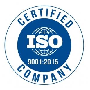 中佑精材通過ISO9001認證